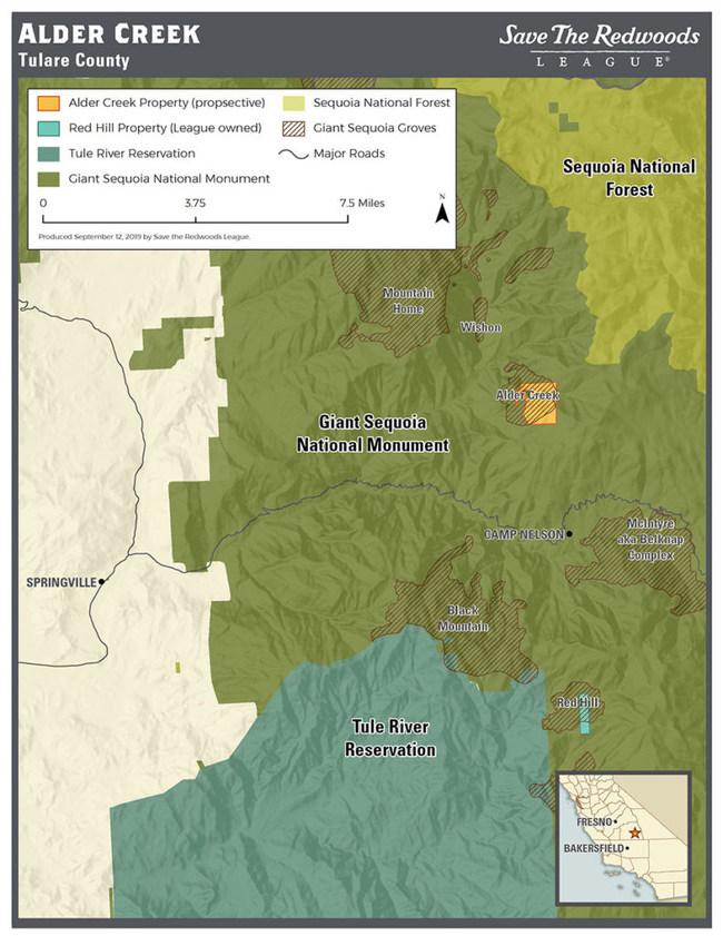 (PRNewsfoto/Save the Redwoods League)