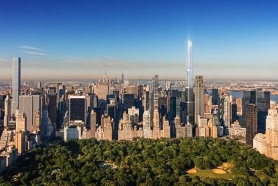 Central Park Tower成为世界最高住宅楼