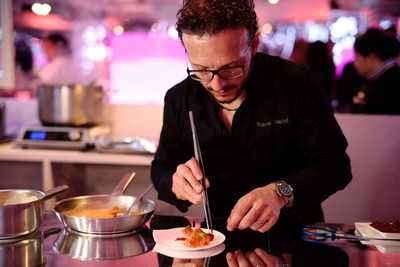Chef Simone Zanoni of Four Seasons Hotel George V, Paris is back after Pop Down Hong Kong.