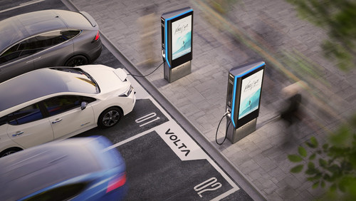 Volta electric vehicle charging stations