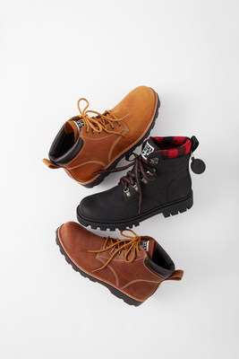 Roots TUFF Boots, featuring limited-edition  Roots x Fred VanVleet (CNW Group/Roots Corporation)