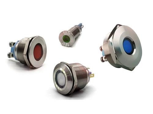 Dialight's new series of heavy-duty panel mount indicators