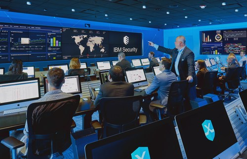 To help cities prepare for cyberattacks including growing ransomware threats, IBM is hosting complimentary training sessions for municipalities in the IBM X-Force Command Cyber Range (pictured) in Cambridge, Massachusetts, where they can simulate attacks and practice their response. The company also is providing new tools and technologies to help cities and local businesses better collaborate around cyber threats.