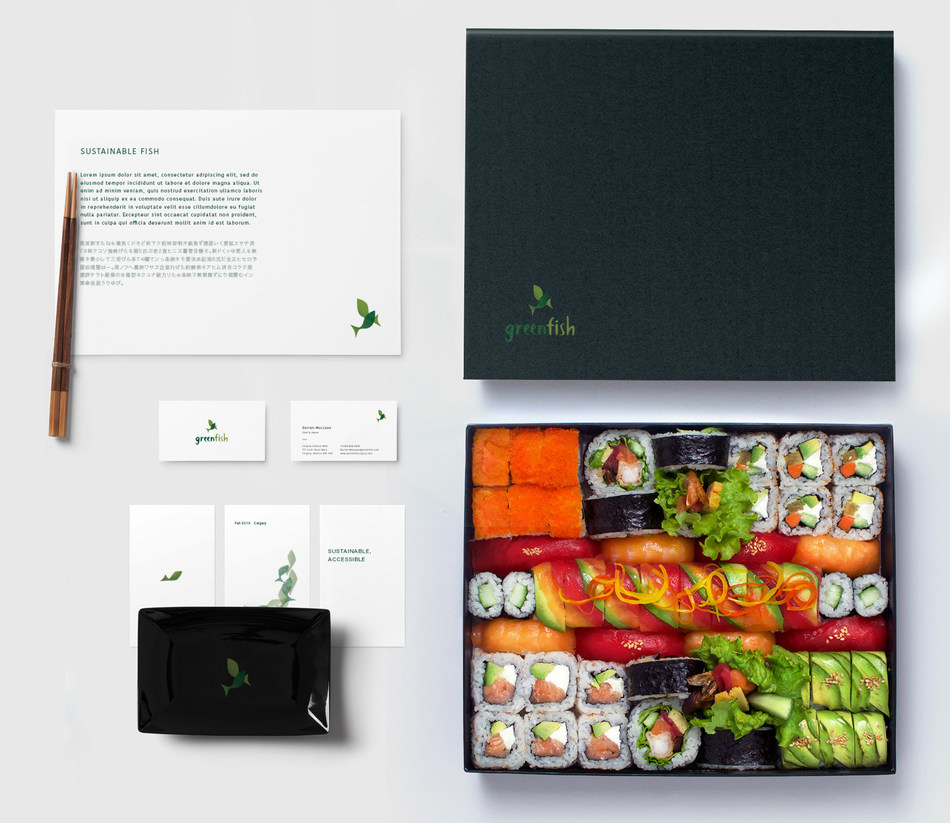 """Omakase"" combo housed in exquisite, compostable packaging (CNW Group/Greenfish)"