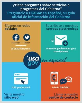 4 formas de contactarse con el Gobierno en español.