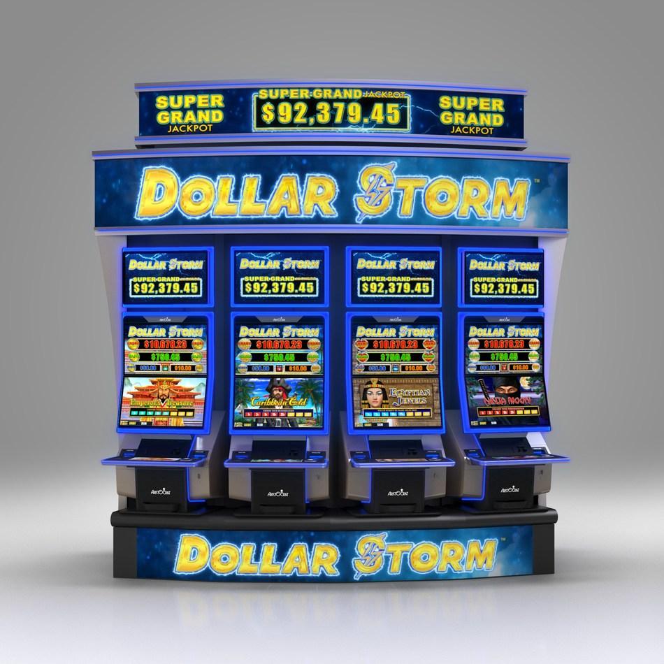 Aristocrat S Revolutionary Dollar Storm Takes Center Stage At San Manuel Casino