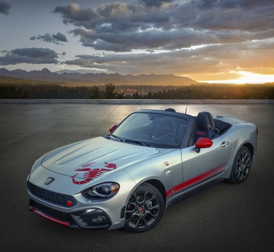 Fiat 124 Spider Abarth Scorpion Sting Appearance Group
