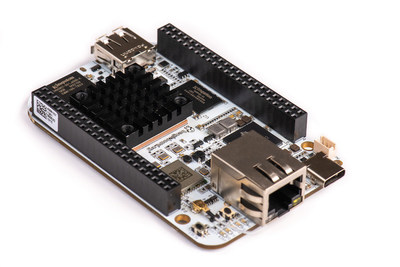 BeagleBone AI is your fast track to embedded artificial intelligence at the edge. The fastest and most flexible BeagleBone yet builds on a decade of success in open hardware single board Linux computers built to educate and help you automate your home, office, lab or manufacturing floor.