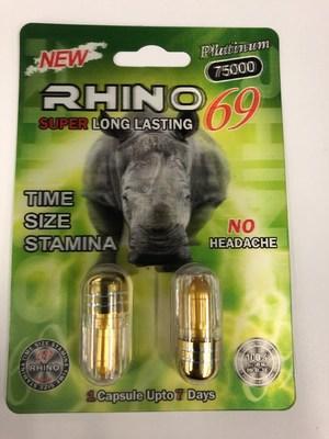 Rhino 69 Platinum 75000 (CNW Group/Health Canada)