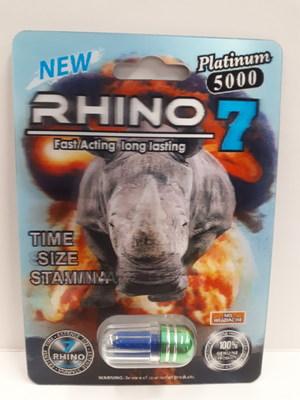 Rhino 7 Platinum 5000 (grand emballage) (Groupe CNW/Santé Canada)