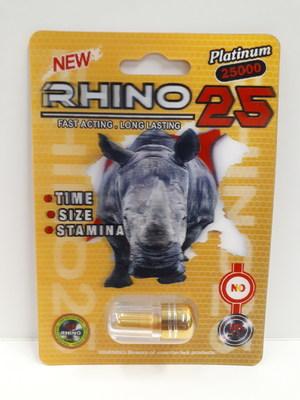 Rhino 25 Platinum 25000 (Groupe CNW/Santé Canada)