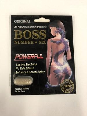 Boss Number #Six (Groupe CNW/Santé Canada)