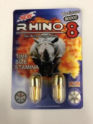 Rhino 8 Platinum 80000 (Groupe CNW/Santé Canada)