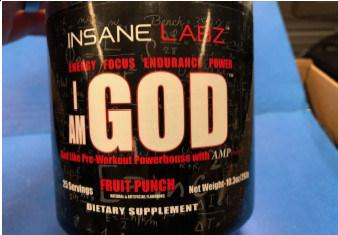 Insane Labz I AM GOD (Groupe CNW/Santé Canada)