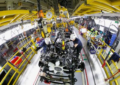 Toyota inyecta una nueva inversión de $391 millones en su planta de ensamblaje en San Antonio. (PRNewsfoto/Toyota Motor North America)