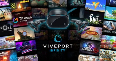 SAMSUNG HMD ODYSSEY OWNERS RECEIVE TWO FREE MONTHS OF VIVEPORT INFINITY
