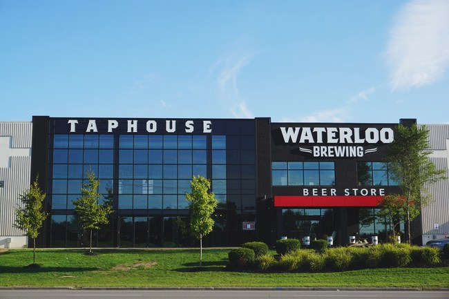 Waterloo Brewing Taphouse Exterior (CNW Group/Waterloo Brewing Ltd.)