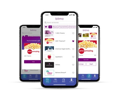 Bitmo's mobile gifting app changes the way consumers gift and shop in store and online.