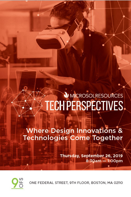 TECH Perspectives Boston 2019 | Where Design Innovations & Technologies Come Together