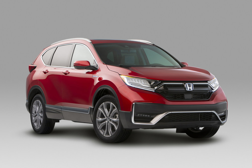 Honda Hrv Touring 2020 Interior
