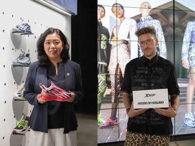 Holly Li: CEO of Xtep brand & Henry Holland: CEO and Creative Director of House of Holland