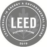 Logo: LEED® Platinum certification 2019. (CNW Group/BentallGreenOak)