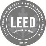 Logo: LEED® Platinum certification 2019. (CNW Group/BentallGreenOak)