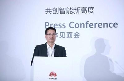Kevin Hu, presidente da linha de produtos de comunicação de dados da Huawei (PRNewsfoto/Huawei)
