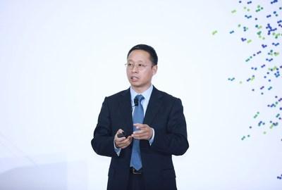 Richard Jin, presidente da linha de produtos de transmissão e acesso da Huawei (PRNewsfoto/Huawei)