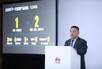 Sun Fuyou, vicepresidente y gerente de tecnología del Huawei Enterprise Business Group (PRNewsfoto/Huawei)