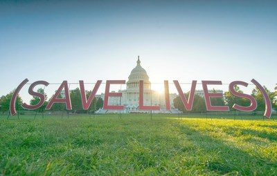 (SAVE LIVES) by Trevor & Cosmo. Photo credit: Cory Ring / @chopemdown