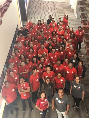 Astellas Employees #ChangingTomorrow benefitting @SpecialOlympics