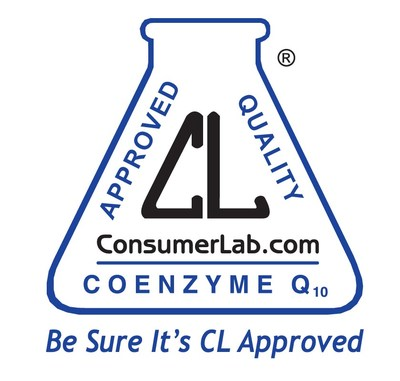ConsumerLab.com Seal for USANA's CoQuinone 30 Supplement