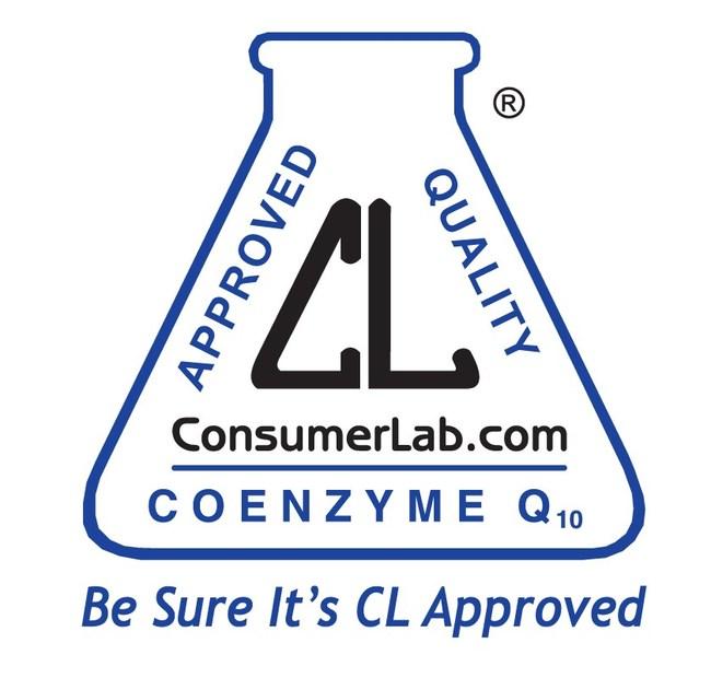 ConsumerLab.com Seal for USANA's CoQuinone 30 Supplement