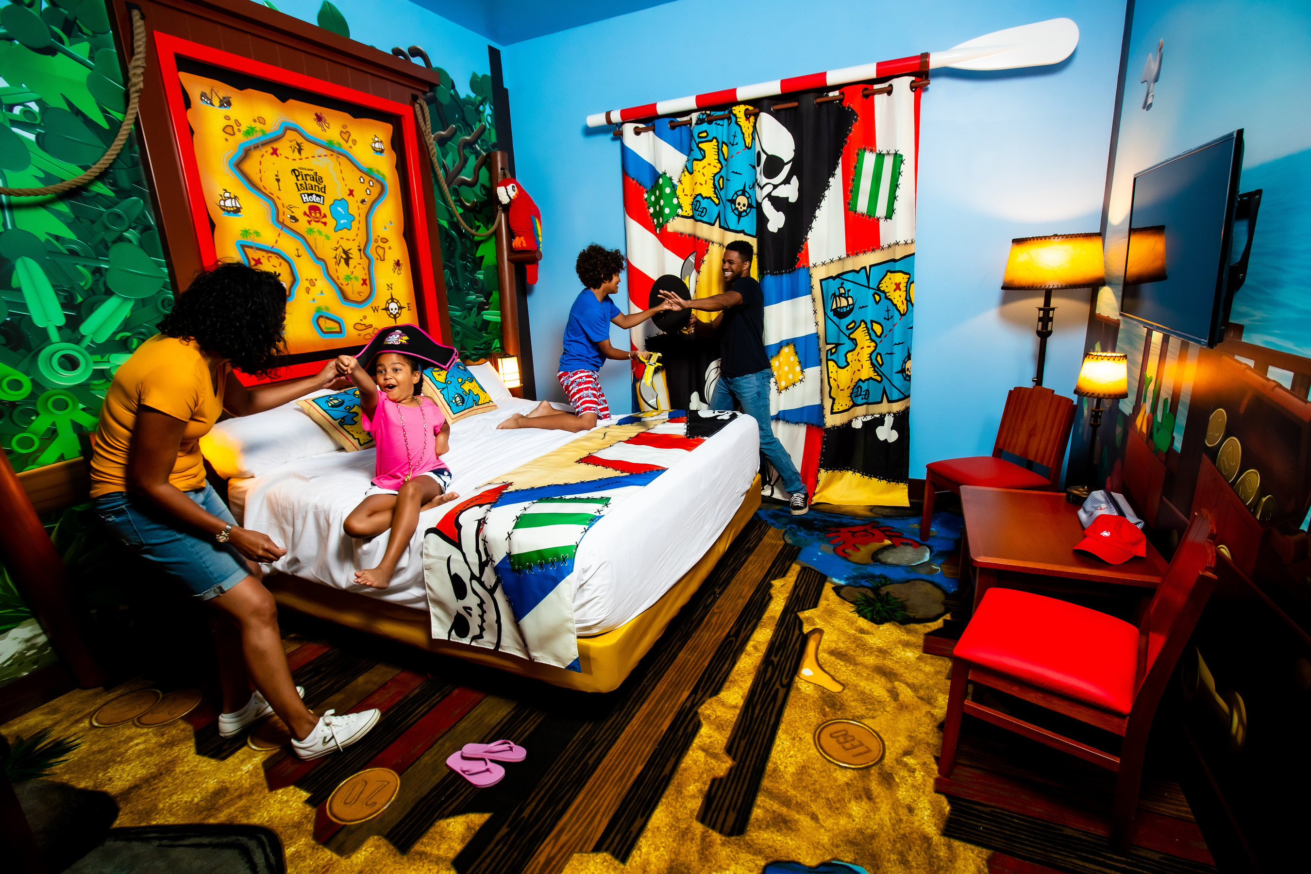 LEGOLAND Florida Resort Reveals First Look at Pirate Island Hotel and Announces Grand Opening on April 17, 2020