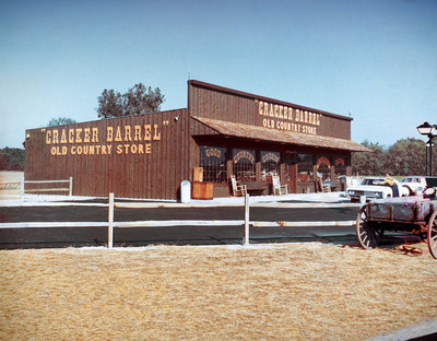 Fifty years ago today, Cracker Barrel Old Country Store, America's iconic destination for Southern homestyle cooking, warm hospitality, and unique retail offerings, made its debut in the small town of Lebanon, Tennessee.