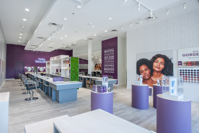 From the customer's viewpoint, Madison Reed Color Bar franchises will mirror the nine Color Bars already operating, including this one in Plano, Texas.