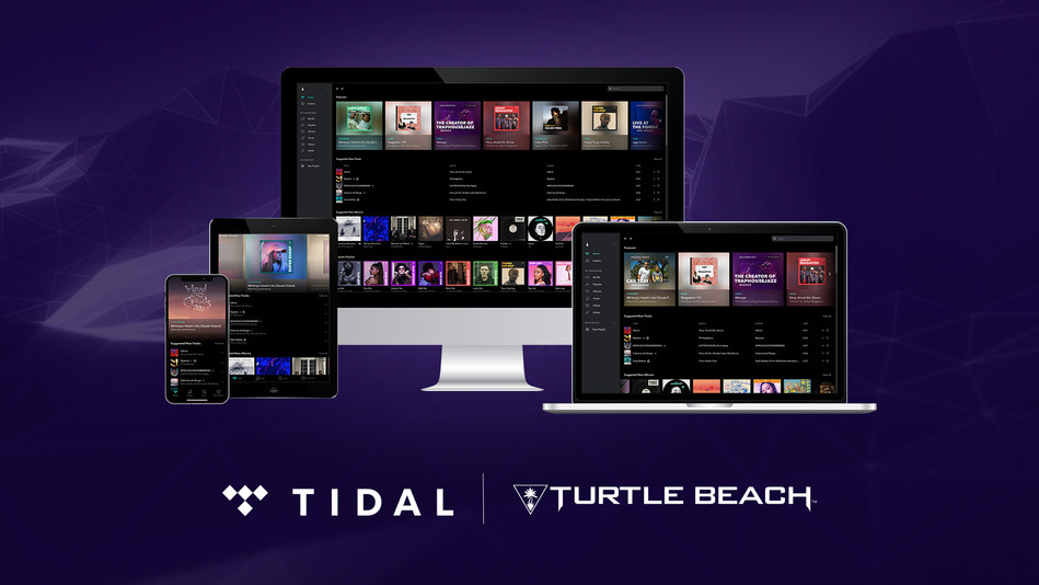 Turtle Beach and Tidal partner to bring 3 free months of Tidal Premium to gamers who want the highest quality audio experience for gaming and music.