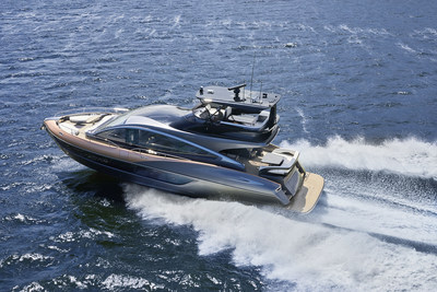 Lexus held the world premiere of its first luxury yacht, the Lexus LY 650, today in Boca Raton, Florida.