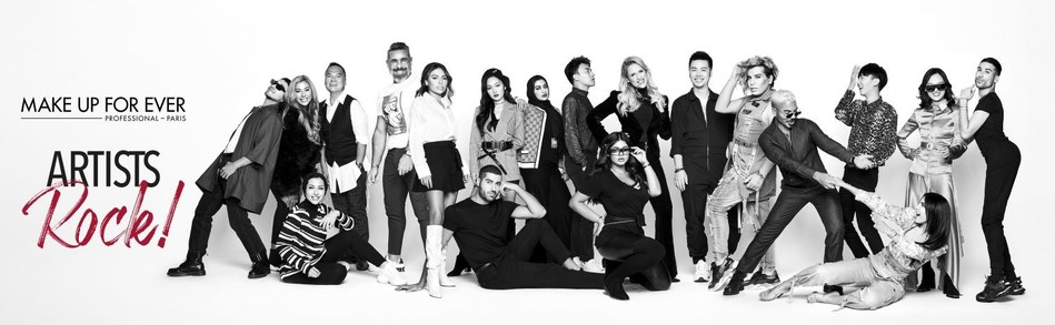 Make Up For Ever, in the Presence of the President and CEO Gabrielle Rodriguez, is Celebrating its Make Up Artist Collective with the Artists Rock! Event In Paris From September 18th to 20th, 2019 (PRNewsfoto/Make Up For Ever)
