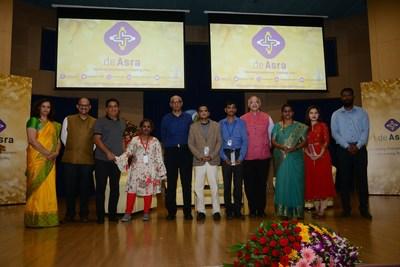 deAsra's Champion dePreneurs with the thought leaders at deAsra's Entrepreneur Excellence Awards 2019 (Left to Right) -Miss Pradnya Godbole, Mr. Madan Padaki, Mr. Ronnie Screwvala, Miss Priyadarshani Nahar, Dr. K P Krishnan, Mr. Ashok Salvi, Mr. Chandrashekhar Mane, Dr. Anand Deshpande, Mrs. Supriya Jagdale, Miss. Ankita Pandhare, Mr. Akshay Pandhare.