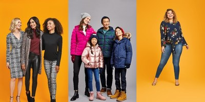 Walmart's fall collection includes a range of classic apparel for cooler weather, including puffer jackets, sweater dresses, cardigans and of course – footwear! With more options than ever, stay on-trend and stylish this season with affordable fashion from Walmart. (CNW Group/Walmart Canada)