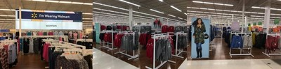Walmart Canada has begun to roll out an enhanced in-store shopping experience with open concept, modern feel and new signage reflecting affordable fashion for real people (CNW Group/Walmart Canada)