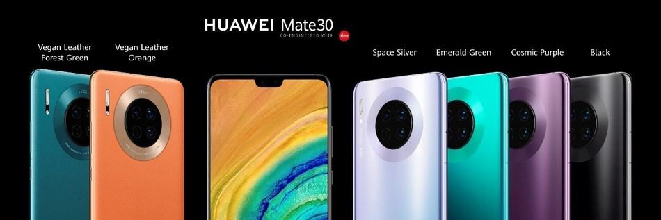 Huawei Rethinks the Smartphone with its Ground-Breaking HUAWEI Mate 30 Series (PRNewsfoto/Huawei Consumer BG)