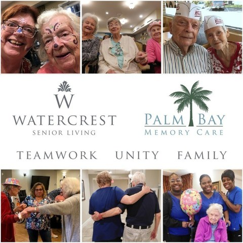 The team at Palm Bay Memory Care have proven that unity and teamwork are instrumental to a thriving senior living community.