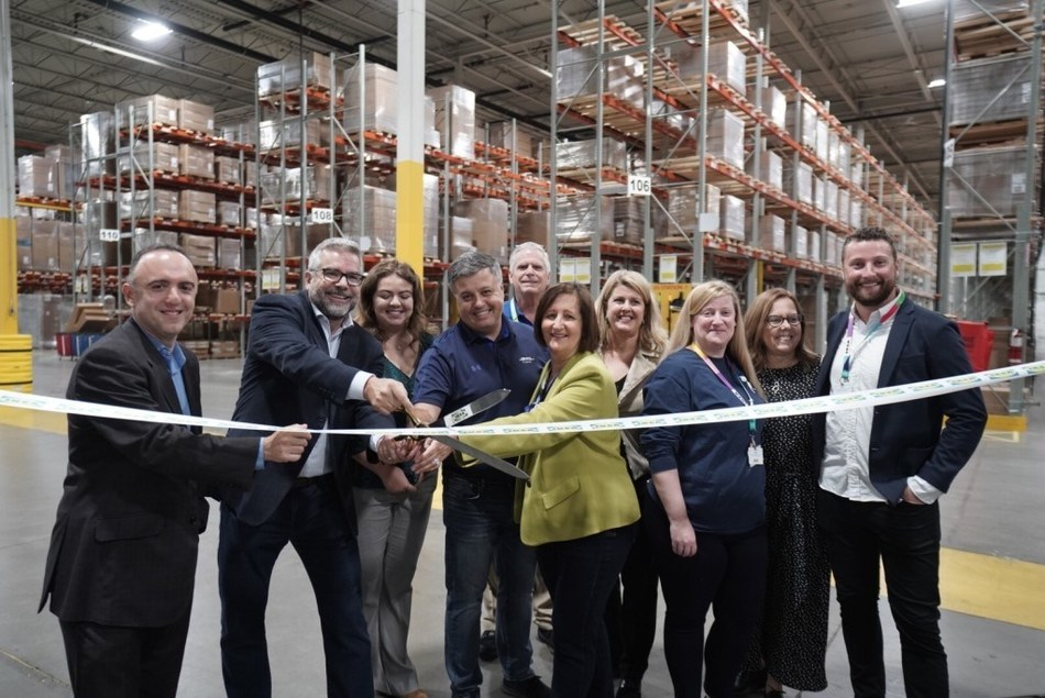IKEA Canada Expands Distribution Network with Grand Opening of Kleinburg Customer Distribution Centre (CNW Group/IKEA Canada)