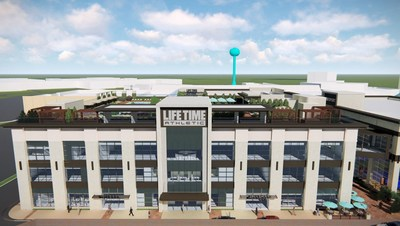 Life Time Edina will offer a highly personalized approach to health and wellness with a broad array of amenities and services.