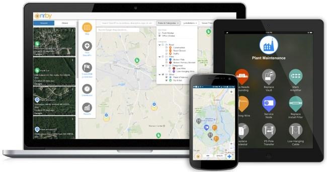 Nrby's Mobile Collaboration Platform