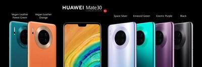 Huawei repensa o conceito de smartphone com o inovador HUAWEI Mate 30 (PRNewsfoto/Huawei Consumer BG)