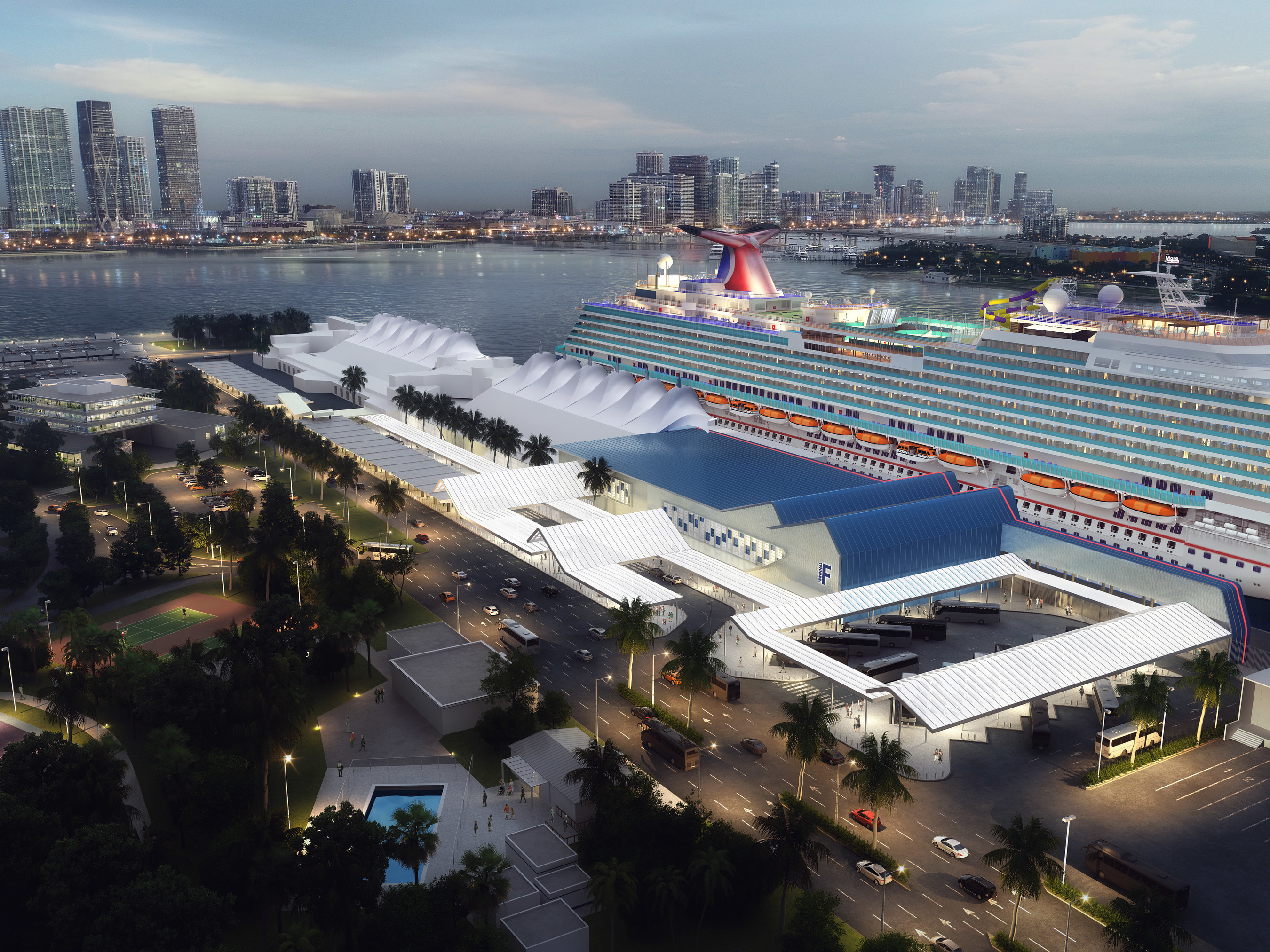 Carnival Receives Approval For Major Expansion Of Terminal F At PortMiami To Accommodate Its Excel Class Ship For Arrival In 2022